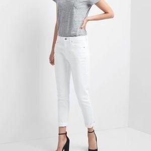 Mid Rise Best Girlfriend Jeans 18 34 White v278